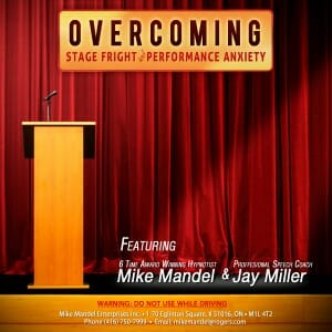 Stage Fright and Performance Anxiety CD