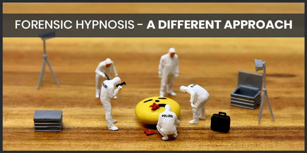 Forensic Hypnosis A Different Approach Mike Mandel Hypnosis