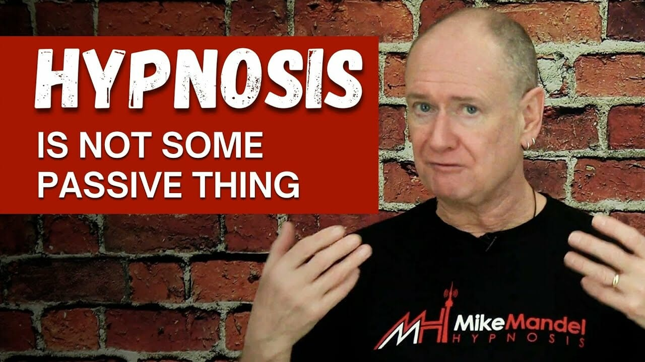 hypnosis is not passive