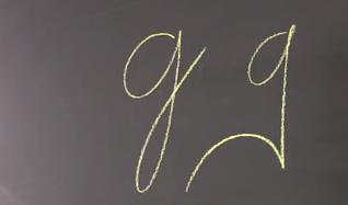 Felon's Claw Graphology