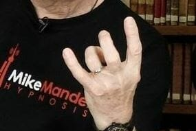 Thumb And Ring Finger Touching